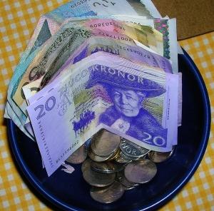 Verkliga pengar ...