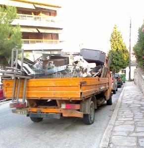 Här kan man tala om en skrotbil ;-)