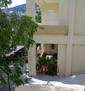En sådan balkong vill jag ha!