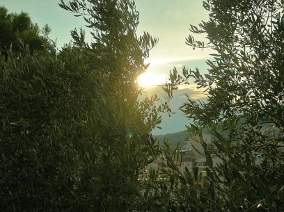 Solnedgång i Kavalla