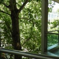 Mellan balkong 1 och 2